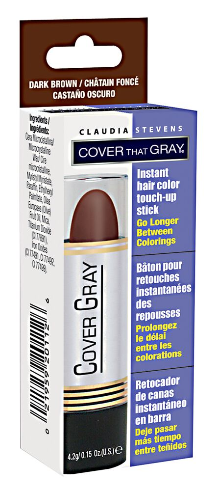 Hair Color Stick Grey Touch Up Laction Disposable Cover 10g 4colors