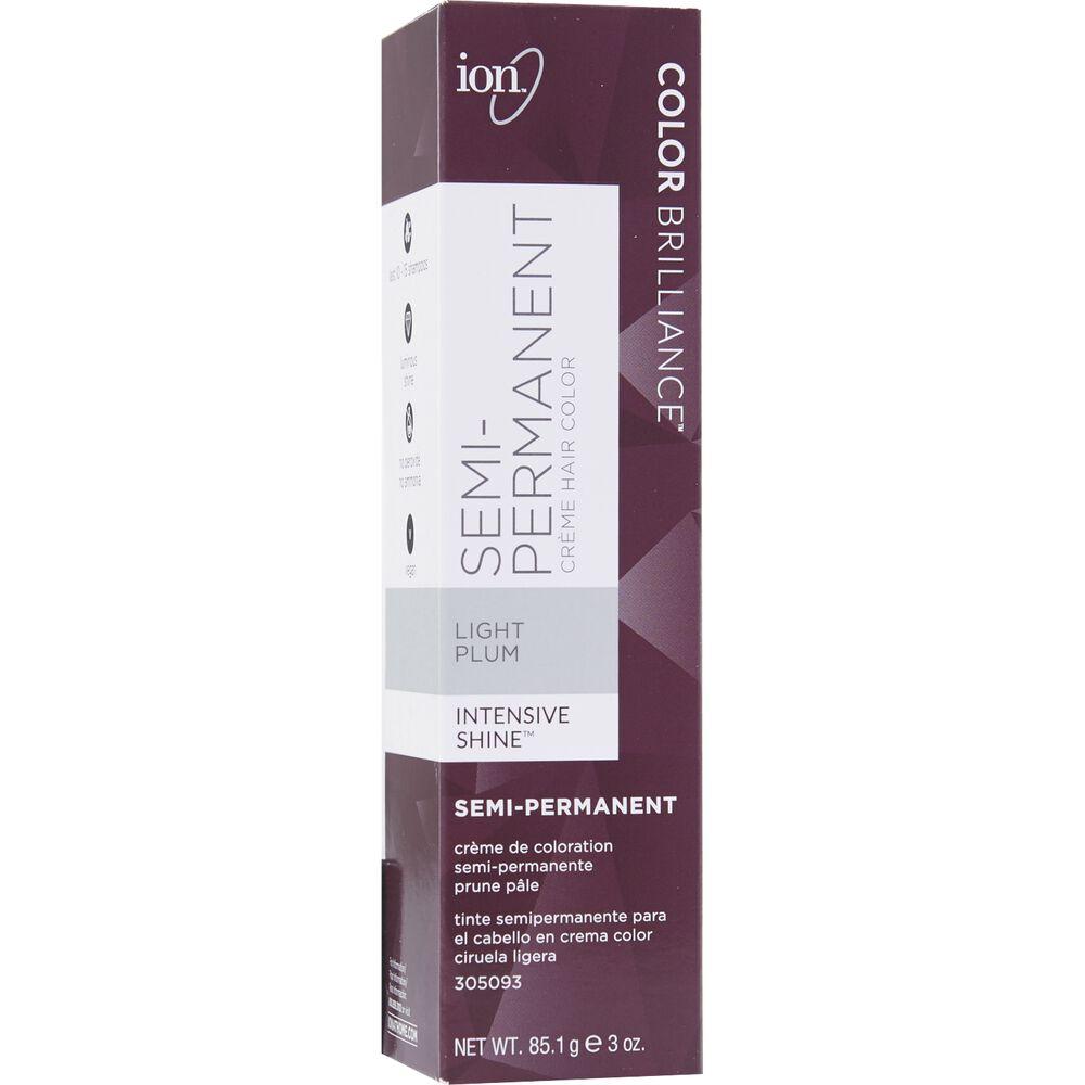 Light Plum Color Brilliance Semi Permanent Hair Color By Ion