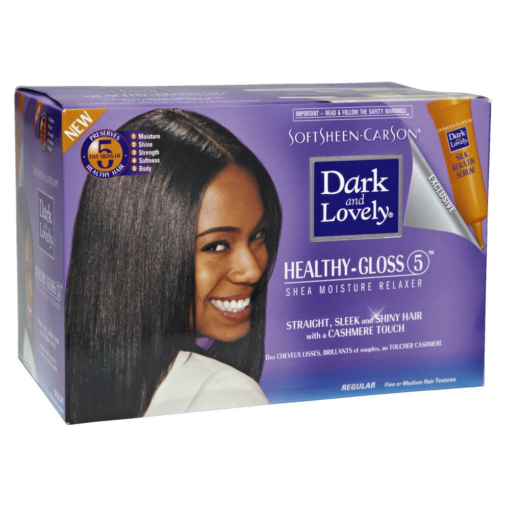 Dark And Lovely Moisture Seal No Lye Regular Relaxer System