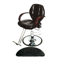 Macee All Purpose Chair with Base with FREE Half Circle Mat