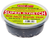 Black 450 Count Rubber Band Tub