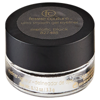 Mineral Effects Ultra Smooth Gel Eyeliner Metallic Black