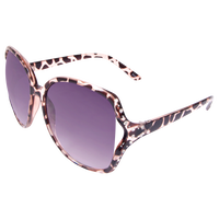 Square Tortoise Crystal Sunglasses