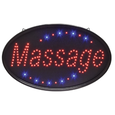 Oval Massage LED Sign