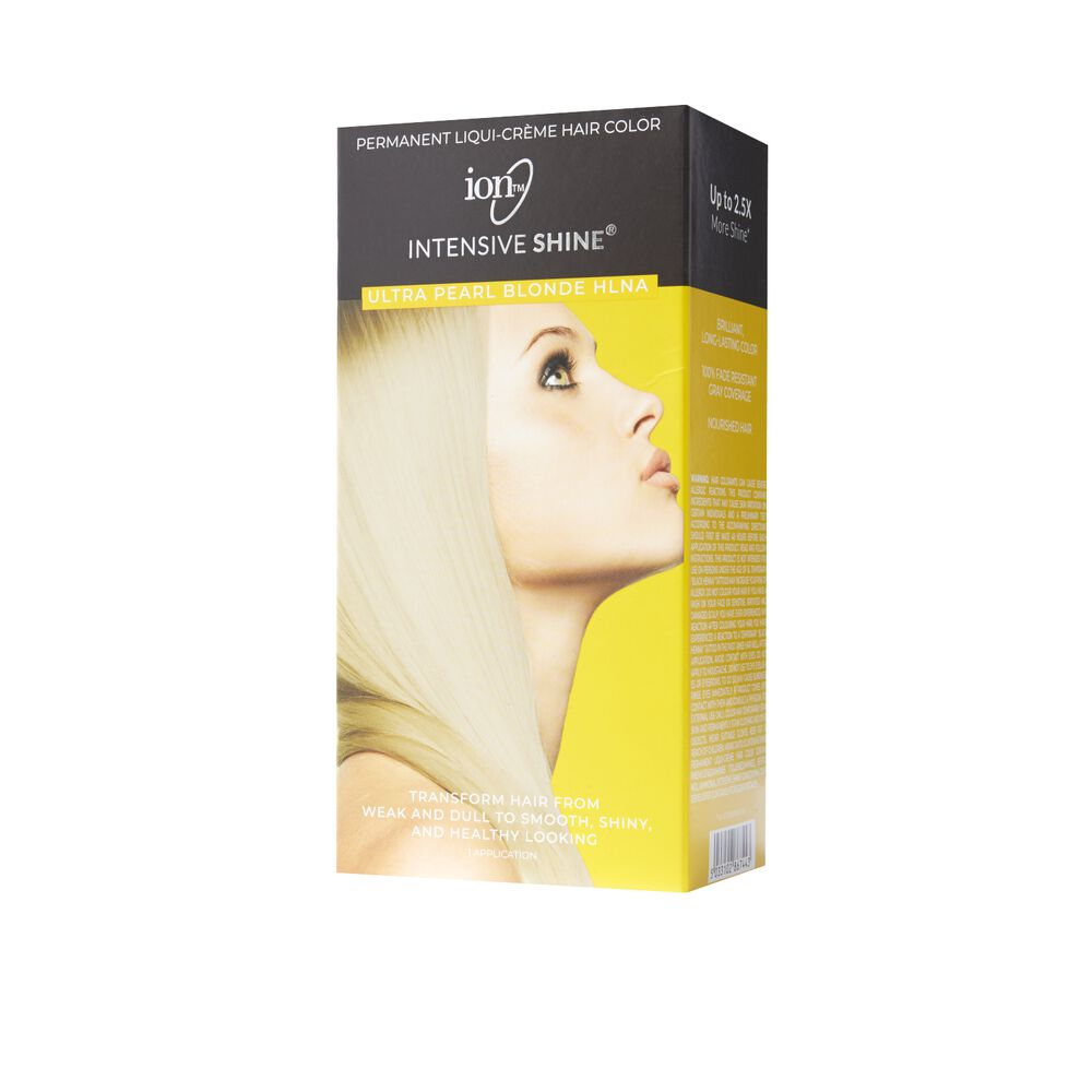 Ion Intensive Shine Hair Color Kit Ultra Pearl Blonde Hlna