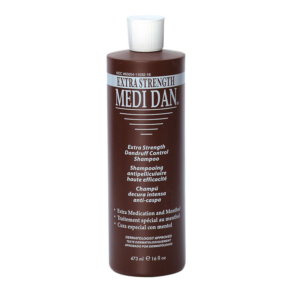 Medi Dan Extra Strength Dandruff Treatment Shampoo