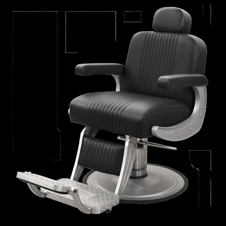 Cobalt Barber Chair