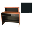 G11 Montego Reception Desk Matte Black