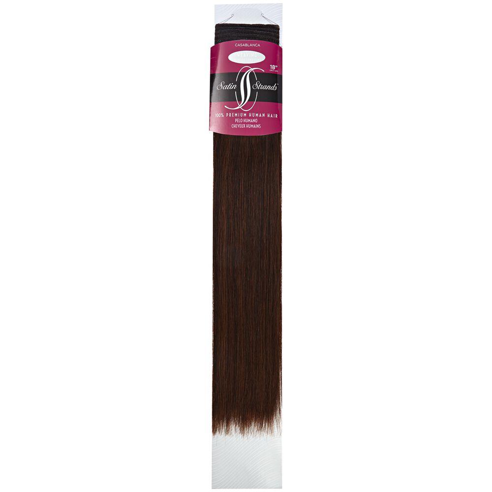 Satin Strands Premium Human Hair Extensions 18 Inch Casablanca