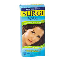 Hair removal waxes strips hair removal sally beauty surgi wax assorted honey wax strips solutioingenieria Image collections