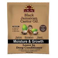 Jamaican Black Castor Oil Leave in Conditioner Packette