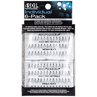 Individual 6 Pack Medium Lashes