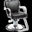 Chromium Cr24-01 Styling Chair with Chrome Base