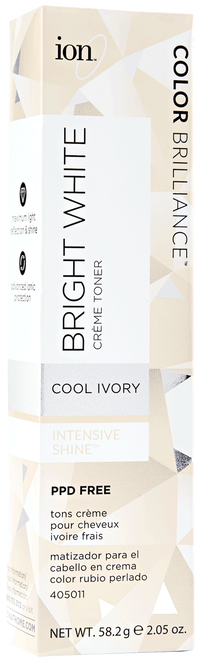 Bright White Creme Toner Cool Ivory