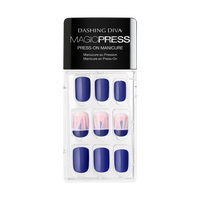 True Blue Press On Nail Kit