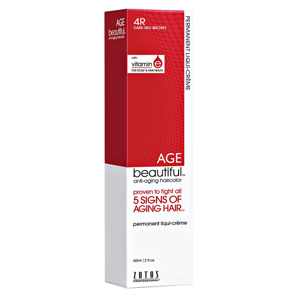 4r Dark Red Brown Permanent Liqui Creme Hair Color By Agebeautiful