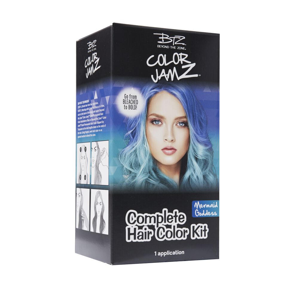 Mermaid Goddess Complete Semi Permanent Hair Color Kit By Beyond The