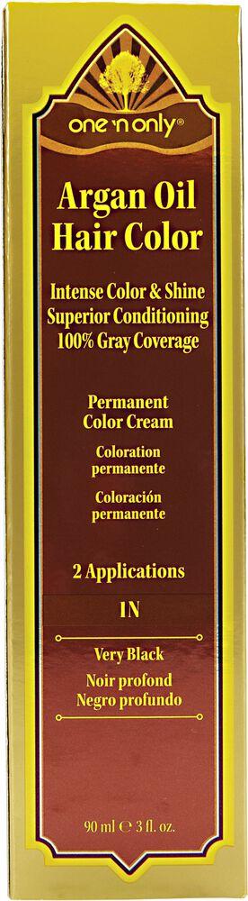 Very Black One N Only Argan Oil Permanent Hair Color Cream