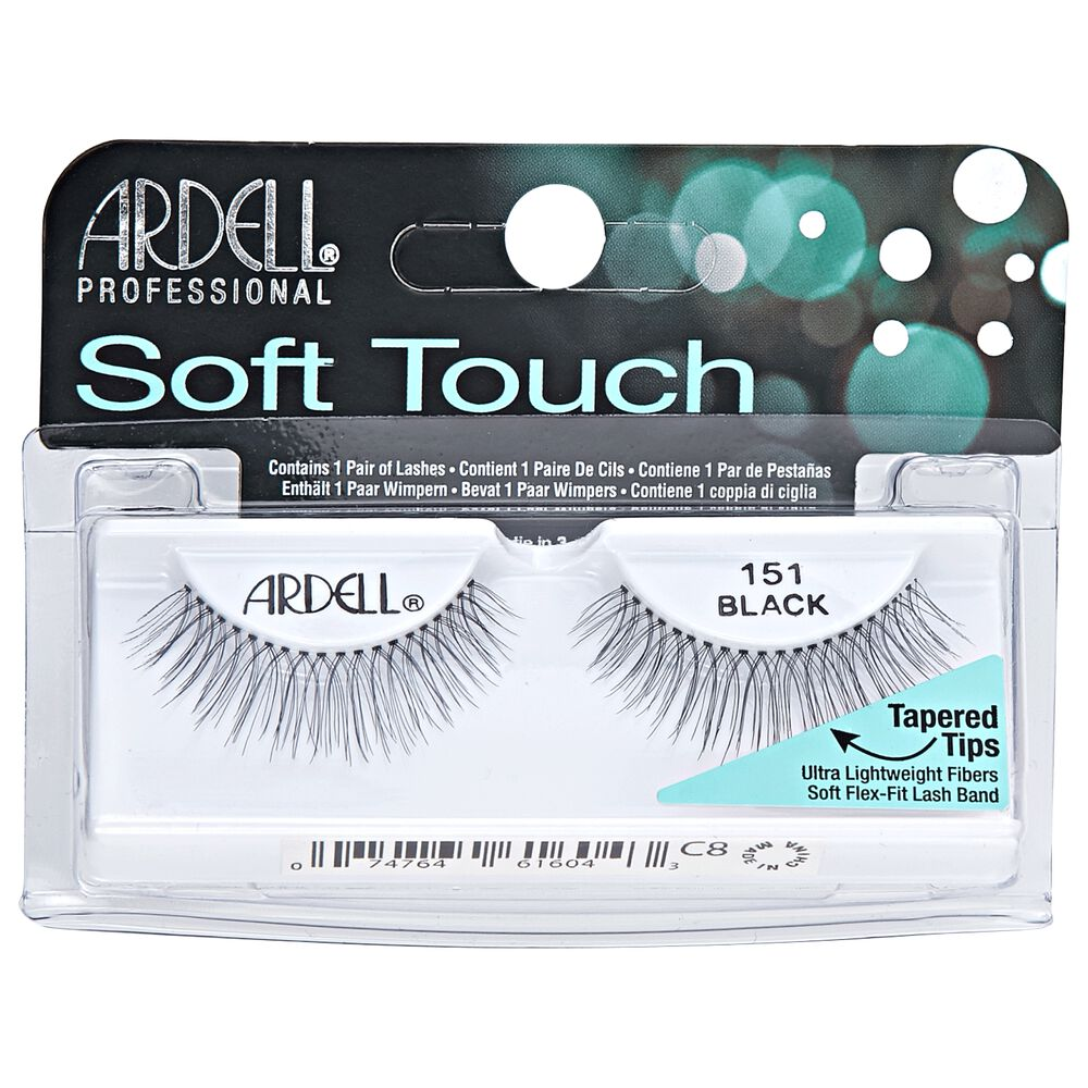 151 Soft Touch Black Lashes By Ardell Eyelash Extensions Sally