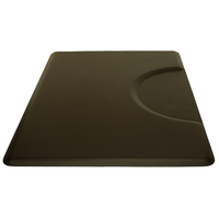 30455 3 X 4.5 Black Rectangle Mat
