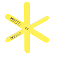 Antibacterial Medium Yellow Nail File