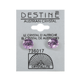 Destine 8mm Diamond Cut Earrings