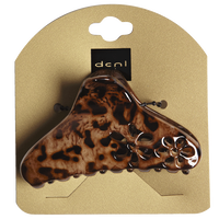Animal Print Claw with Flowers