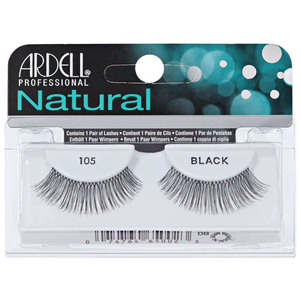 Natural 105 Black Lashes By Ardell Eyelash Extensions Sally Beauty