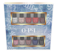 10 Piece Mini Holiday Pack Nail Lacquer