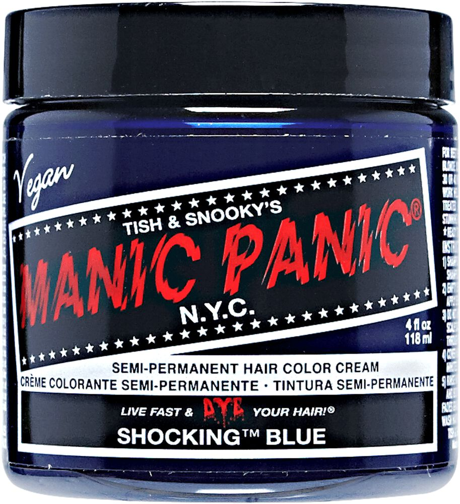 Shocking Blue Manic Panic Semi Permanent Hair Color Sally Beauty