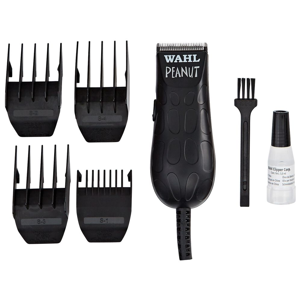 Black Peanut Clipper And Trimmer By Wahl Hair Clippers Trimmers