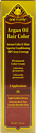5G Light Golden Brown Permanent Hair Color Cream
