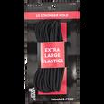Black Extra Large Elastics