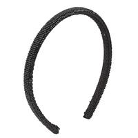 Black Beaded Headband