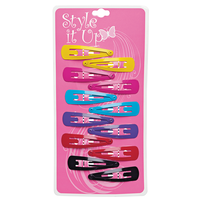 Children's Color Snap Clips