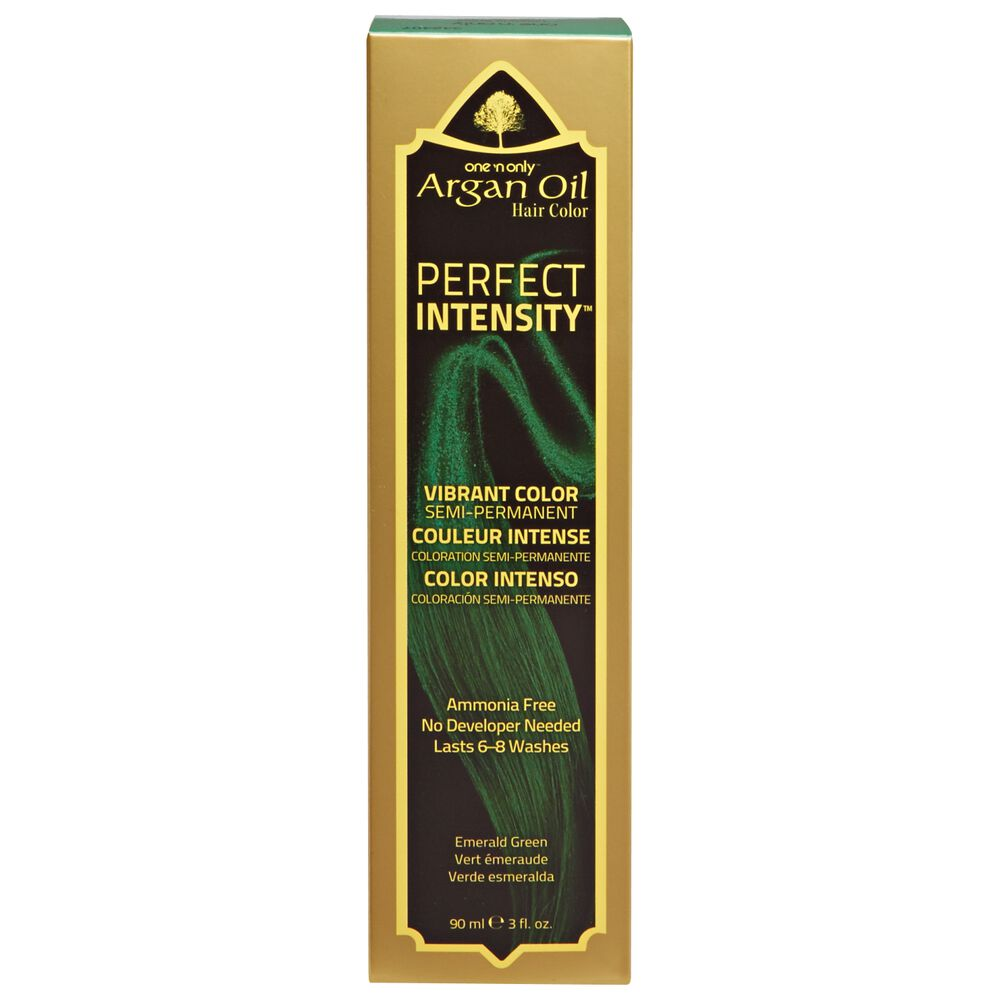 One N Only Argan Oil Hair Color Perfect Intensity Emerald Green