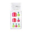 Press On Toe Nails Neon Glow