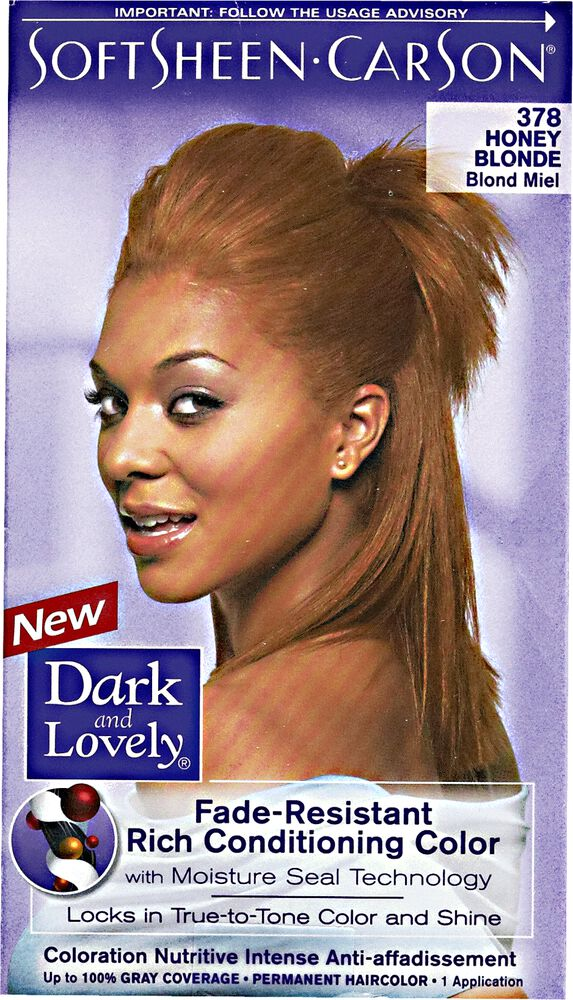 Fade Resistant Honey Blonde Permanent Hair Color By Dark Lovely