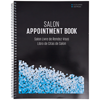 Medium 4 Column Salon Appointment Book