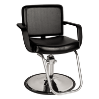 611.0.G Bravo Styling Chair Black