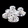 Swirl Diamond Pins