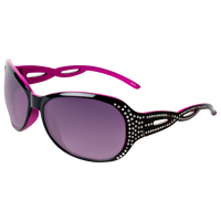 Black & Pink Round Sunglasses