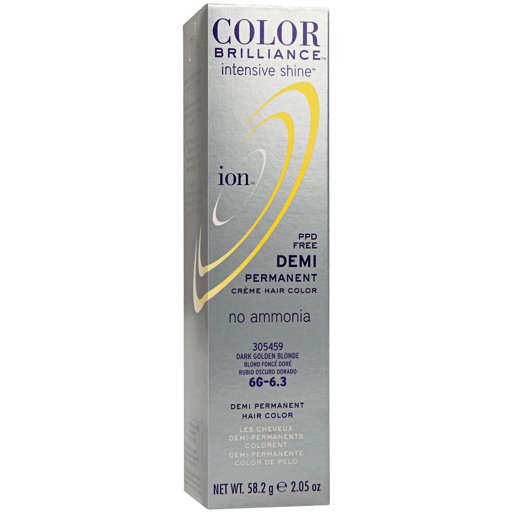Dark Golden Blonde Ion Color Brilliance Demi Permanent Creme Hair