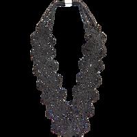 Black Lace Headwrap
