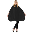 Solid Black Shampoo Cape