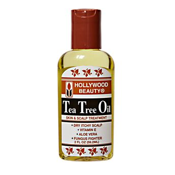 Hollywood Tea Tree Oil On Natural Hair