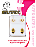 White Pearl Sterilized Piercing Earrings