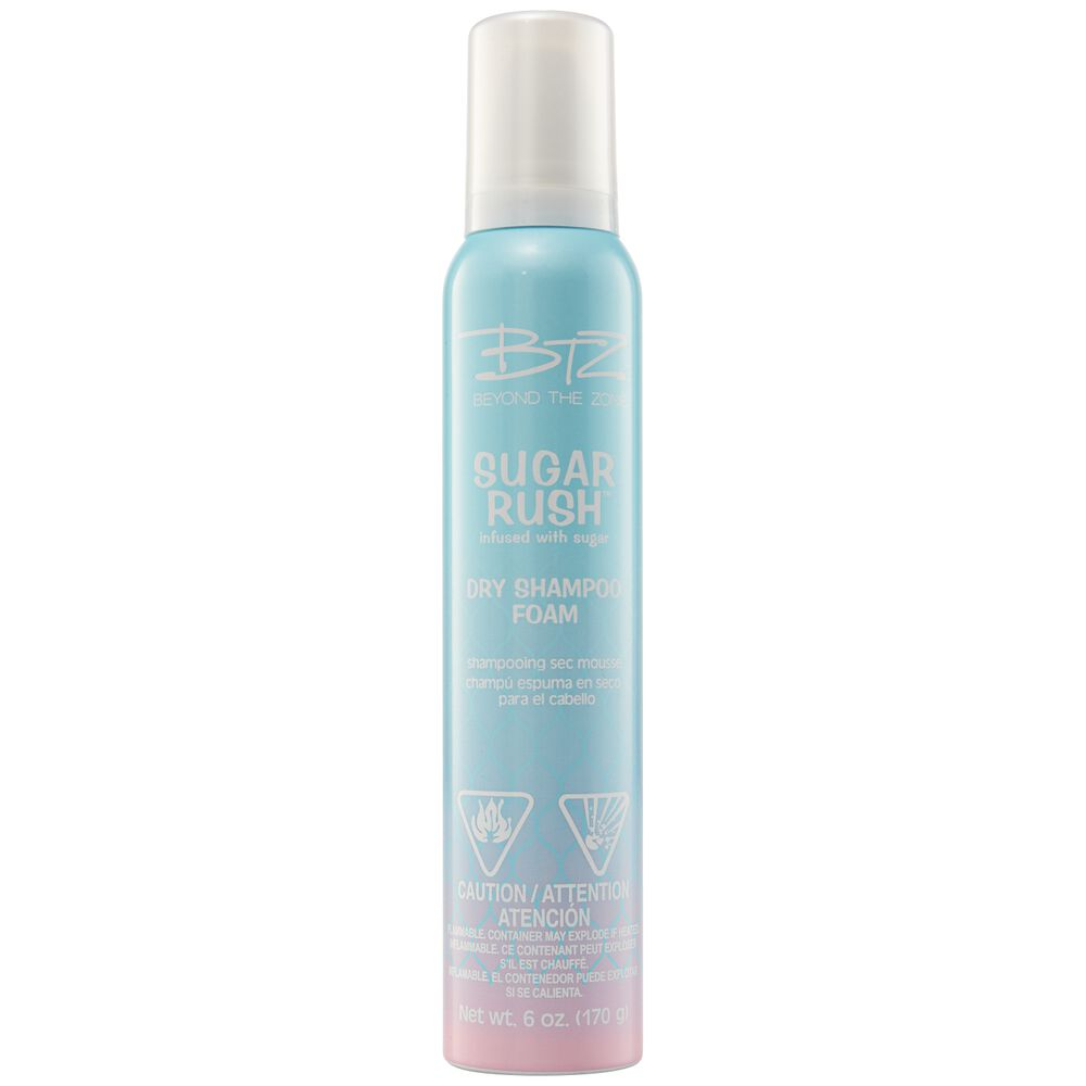 Sugar Rush Dry Shampoo Foam by Beyond the Zone | Shampoo
