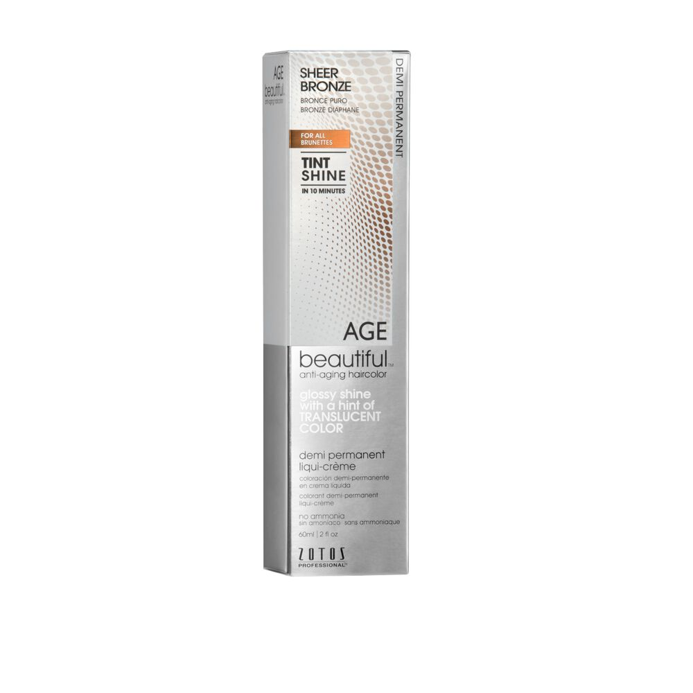 Agebeautiful Anti Aging Tint Shine Demi Permanent Hair Color