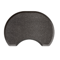 2.5 X 3.5 Granite Steel Round Mat with Chair Depression